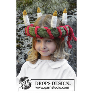 Little Lucia by DROPS Design - Luciakrone Hæklekit 63 cm