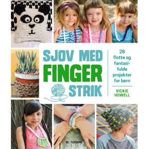 Sjov med fingerstrik - Bog af Vickie Howell