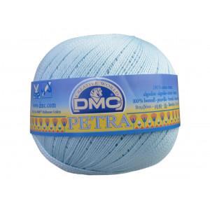 DMC Petra nr. 8 Hæklegarn Unicolor 54463 Babyblå