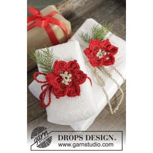 It's A Wrap! by DROPS Design - Blomster Hæklekit