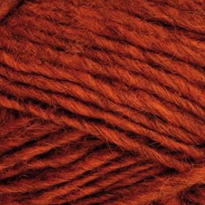 ístex ístex álafoss lopi garn unicolor 1236 mørk orange fra rito.dk