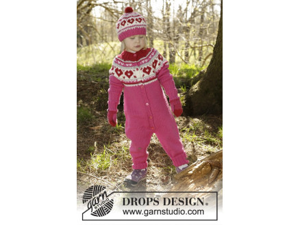 Image of   Warmhearted by DROPS Design - Heldragt Strikkeopskrift str. 12/18 mdr