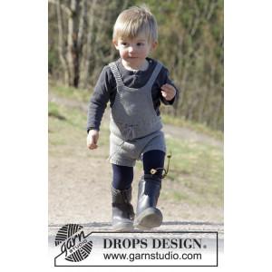 The Little Lumberjack by DROPS Design - Legedragt Strikkeopskrift str. 1/3 - 24 mdr