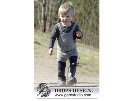 Image of   The Little Lumberjack by DROPS Design - Legedragt Strikkeopskrift str.