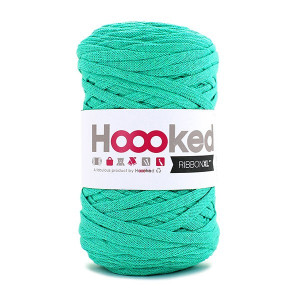 Hoooked Ribbon XL Stofgarn Unicolor SP7 Mint