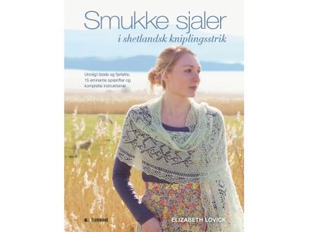 Image of   Smukke sjaler i shetlandsk kniplingsstrik - Bog af Elizabeth Lovich