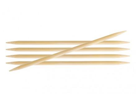 Knitpro Bamboo Strømpepinde Bambus 20cm 6,50mm / 7.9in Us10½