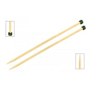 KnitPro Bamboo Strikkepinde / Jumperpinde Bambus 33cm 9,00mm / 13in US13