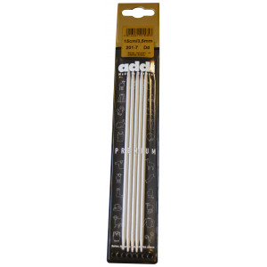 Addi Addi strømpepinde aluminium 15 cm 3,50 mm / 5.9in us4 fra rito.dk