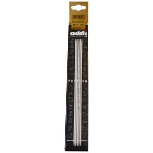Addi Strømpepinde Aluminium 20cm 2,50 mm / 7.9in US1½