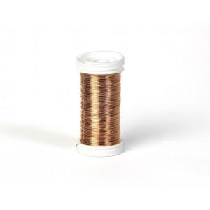 Myrtetråd / Blomstertråd Kobber 0,30mm 100 g