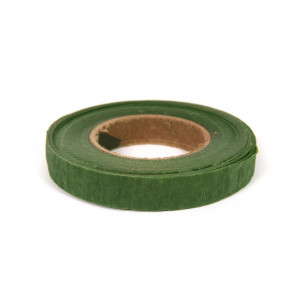 Blomstertape / Flower tape Grøn 13mm 30m
