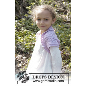 Leelanee by DROPS Design - Bolero Strikkeopskrift str. 3/4 - 11/12 år