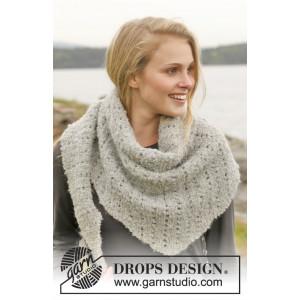 Iceland by DROPS Design - Halstørklæde Strikkeopskrift 175x45 cm