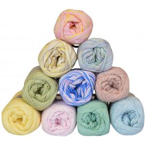 Mayflower Cotton 8/4 Garnpakke 10 farver Baby - 10 stk