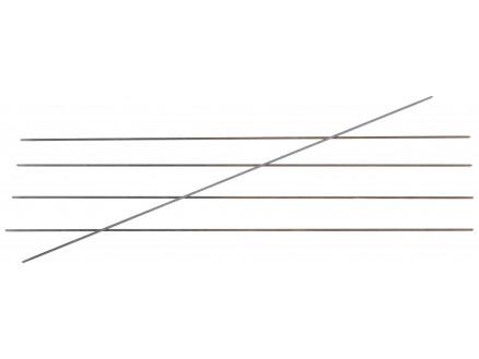 Knitpro Karbonz Strømpepinde Kulfiber 15cm 1,00mm / Us00000