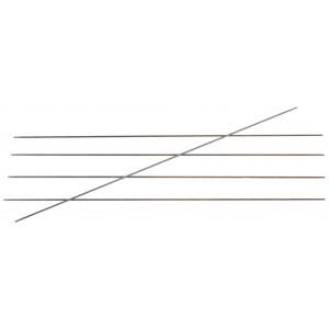Image of   KnitPro Karbonz Strømpepinde Kulfiber 15cm 1,25mm / US0000
