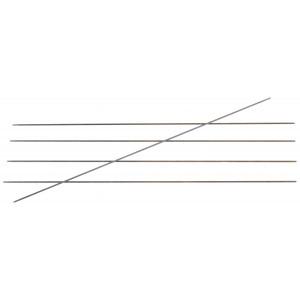KnitPro Karbonz Strømpepinde Kulfiber 20cm 1,25mm / US0000