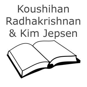 Koushihan Radhakrishnan og Kim Jepsen Bøger