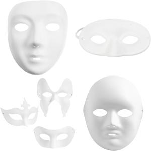 Papmasker / Plastmasker