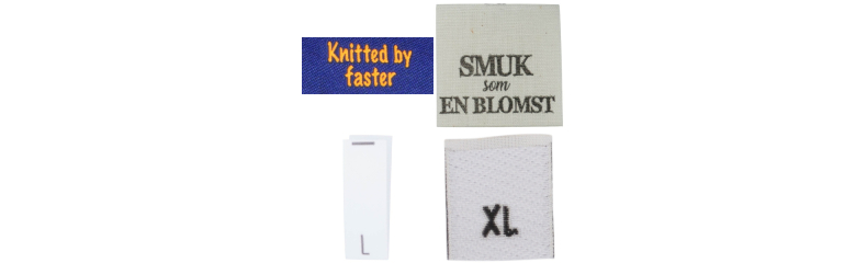 20768e8c839 Made By Labels / Lapper - Stort udvalg til billige priser! - Rito.dk