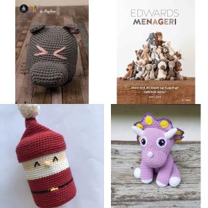 Hæklekits til bamser, dyr og figurer