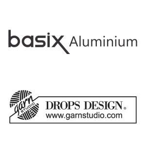 KnitPro Aluminium / Drops Basic Aluminium Hæklenåle