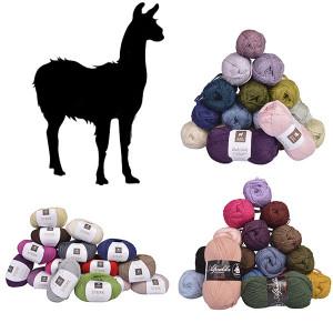 Alpaca / Lama garn - Uldgarn