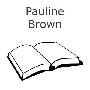 Pauline Brown Bøger