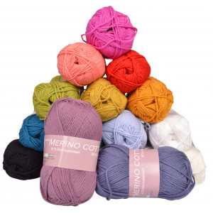 Hjertegarn Merino Cotton